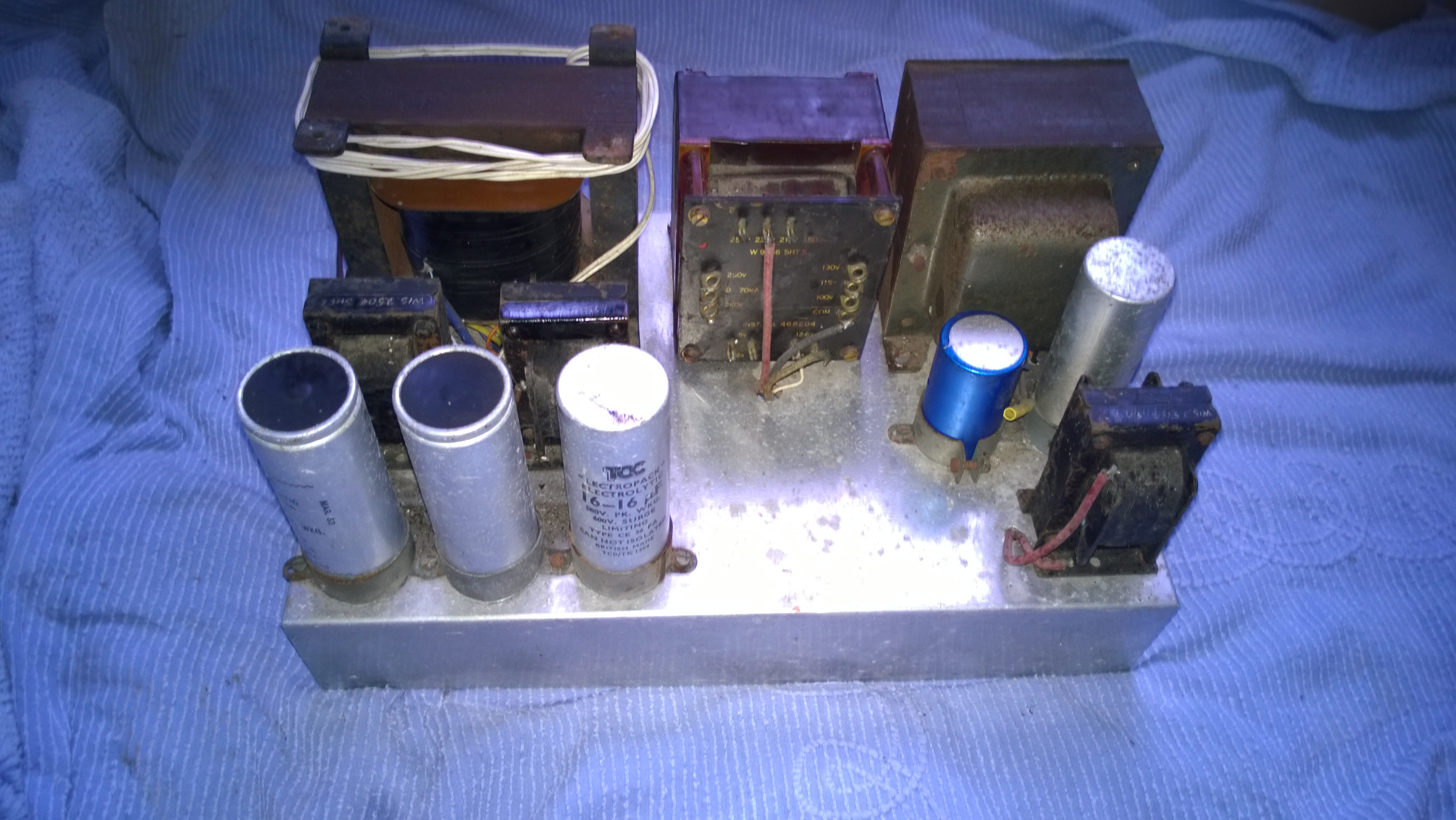 Canadian 43 Set-  Home brew Power supply 2