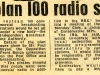 Tories Plan 100 Stations - 1969
