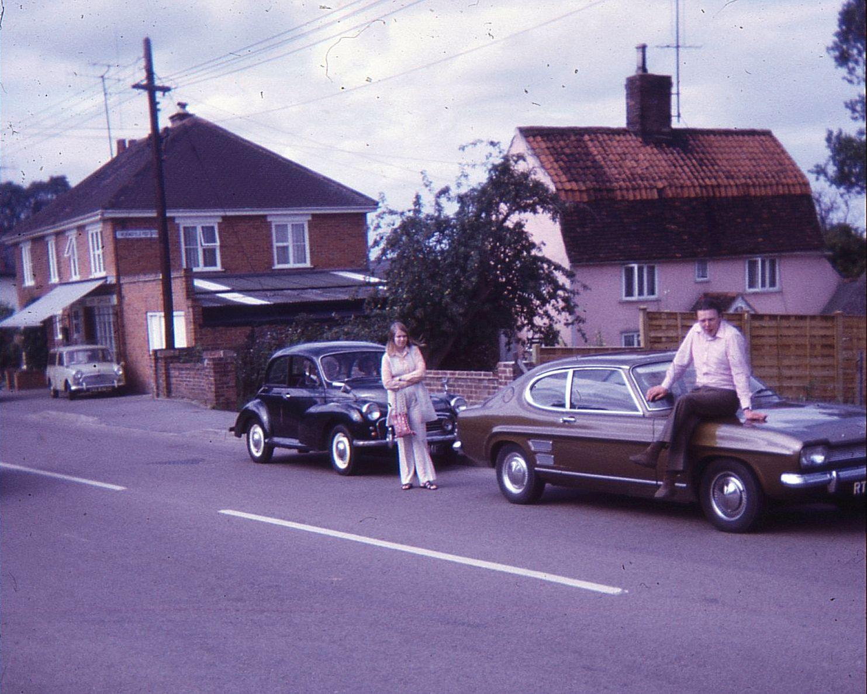 Pam,Bob,Finchingfield_8.8.71