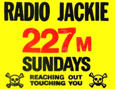Radio Jackie Car Sticker