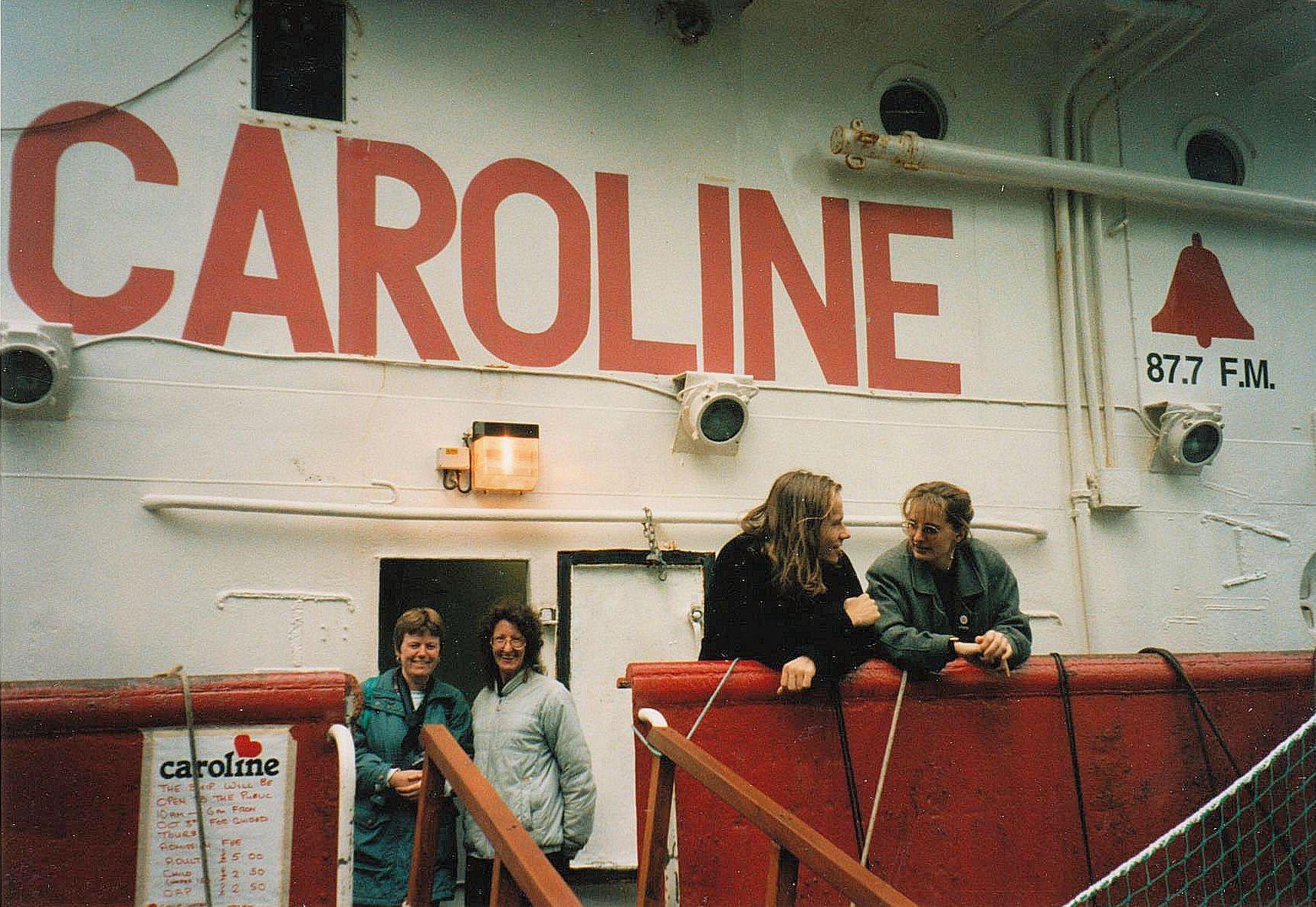 Lynn Strang and Friend - Docklands 1995