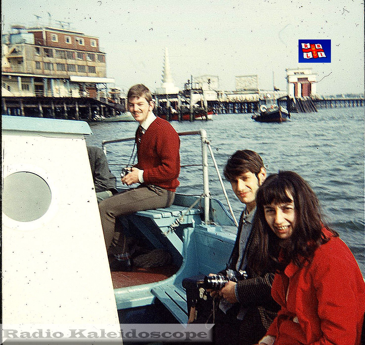 DJ DD with Margret & Peter- Southend Pier head boat trip to Radio City Fort - 1969