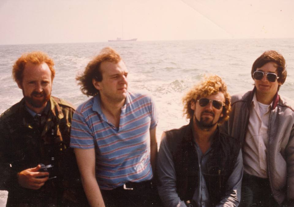 Ross Revenge first day of Broadcast 1983
