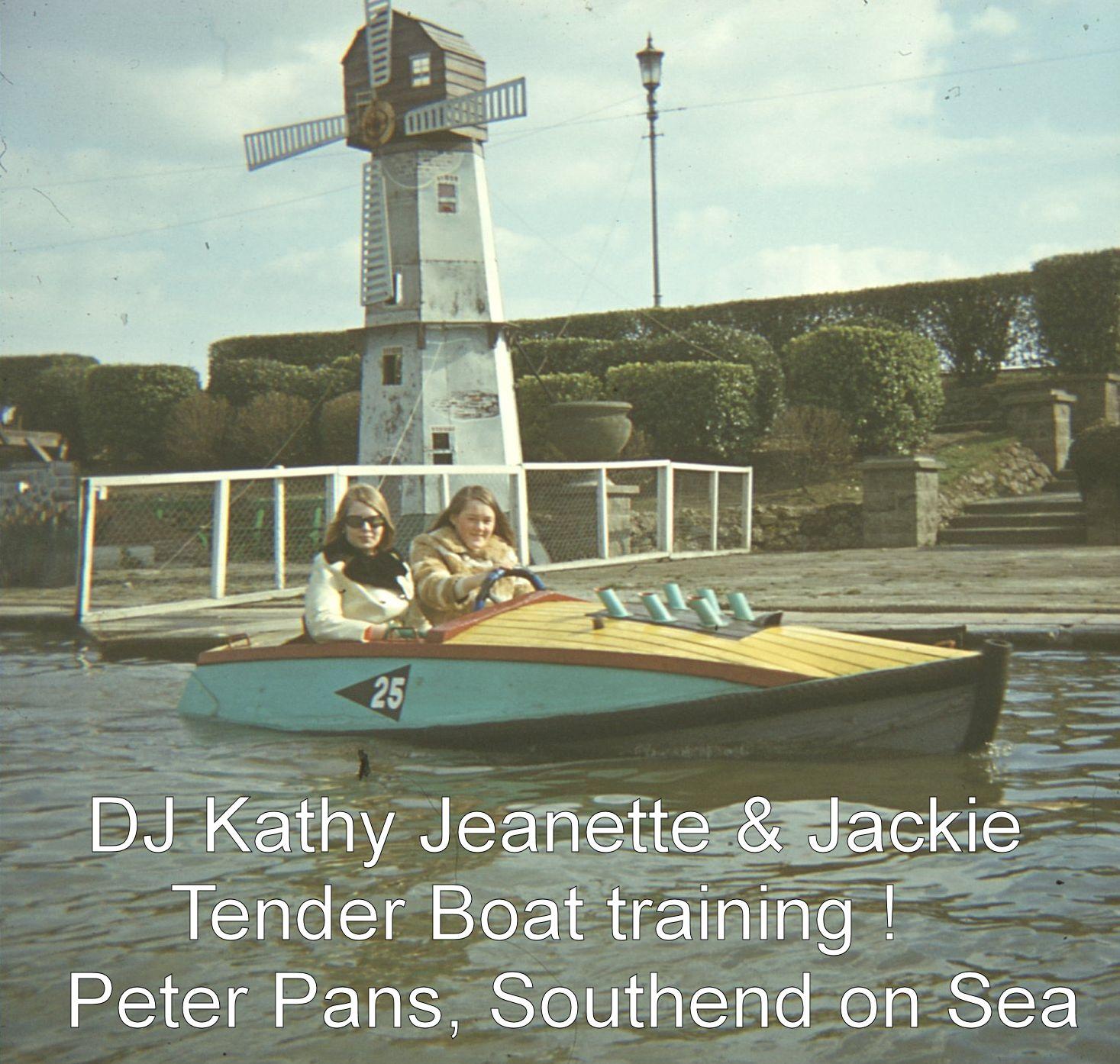 DJ Kathy Jeanette & Jackie 1970