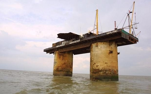 Sealand in 2007 CREDIT: REX FEATURES