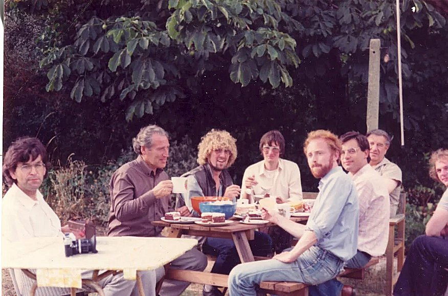 Busters Garden Party Aug 1983-2