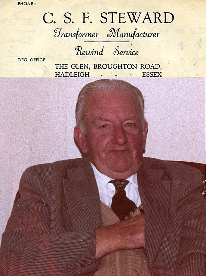 Cecil Steward- Born 1897-2