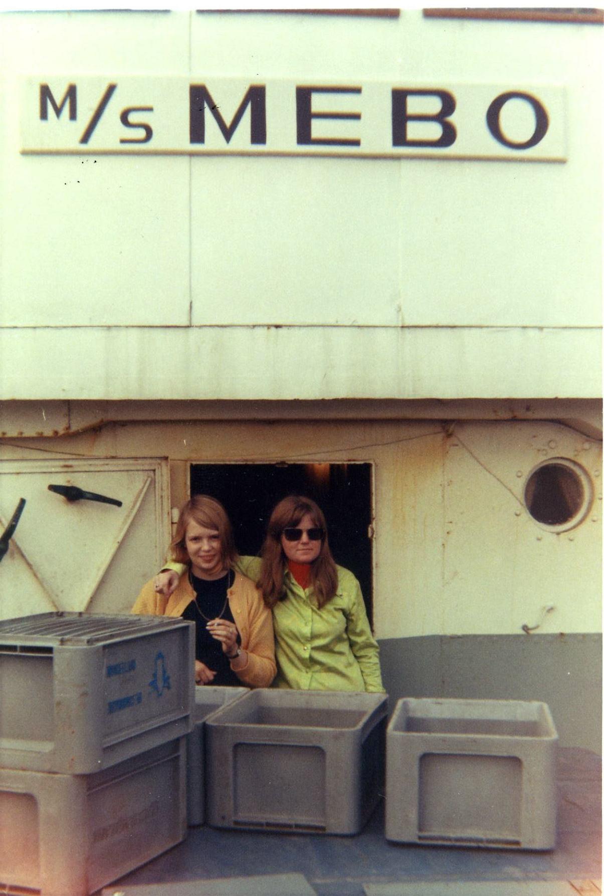Kathy Jeanette & Tracy Deram aboard RNI