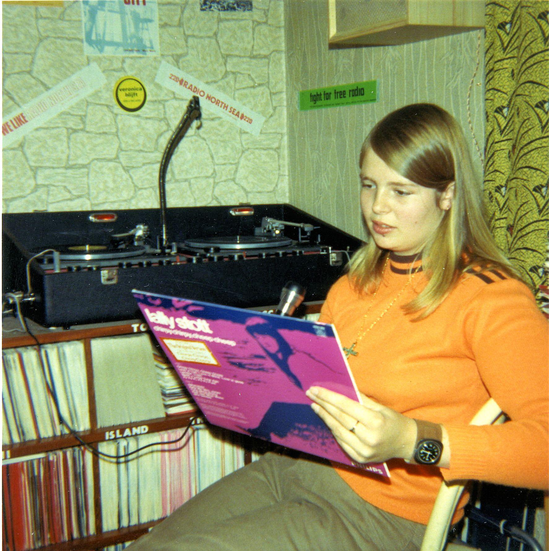 DJ Kathy Jeanette recordings 1971