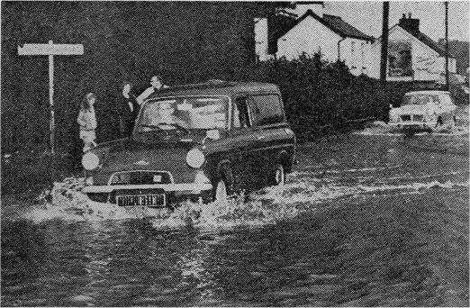 Flood Benfleet 1968