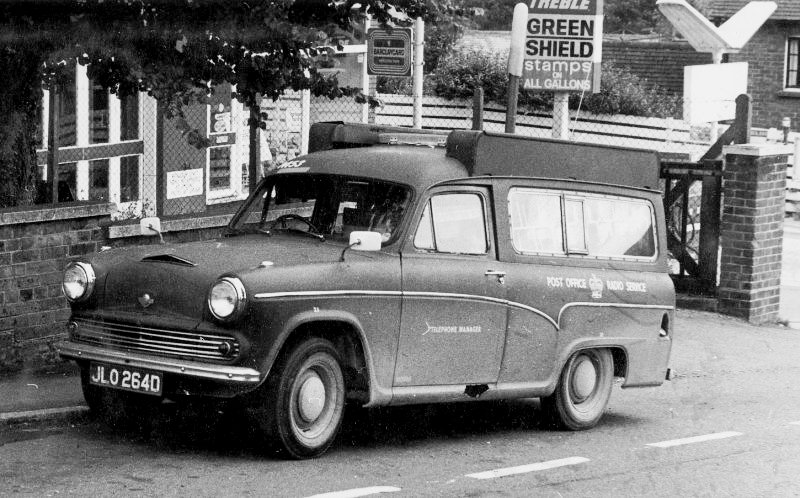 Austin Cambridge - GPO Radio Detector Van - (Courtesy Phil Crosby, Australia)