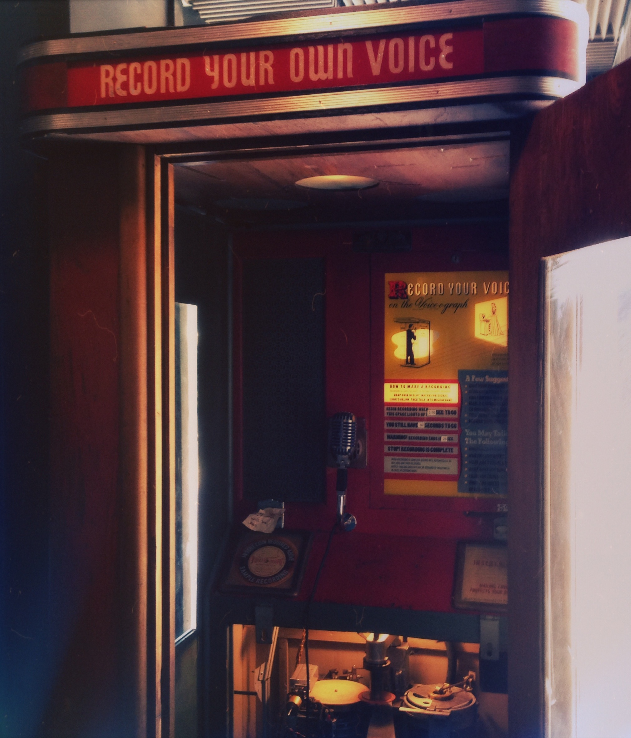Voice recording machine