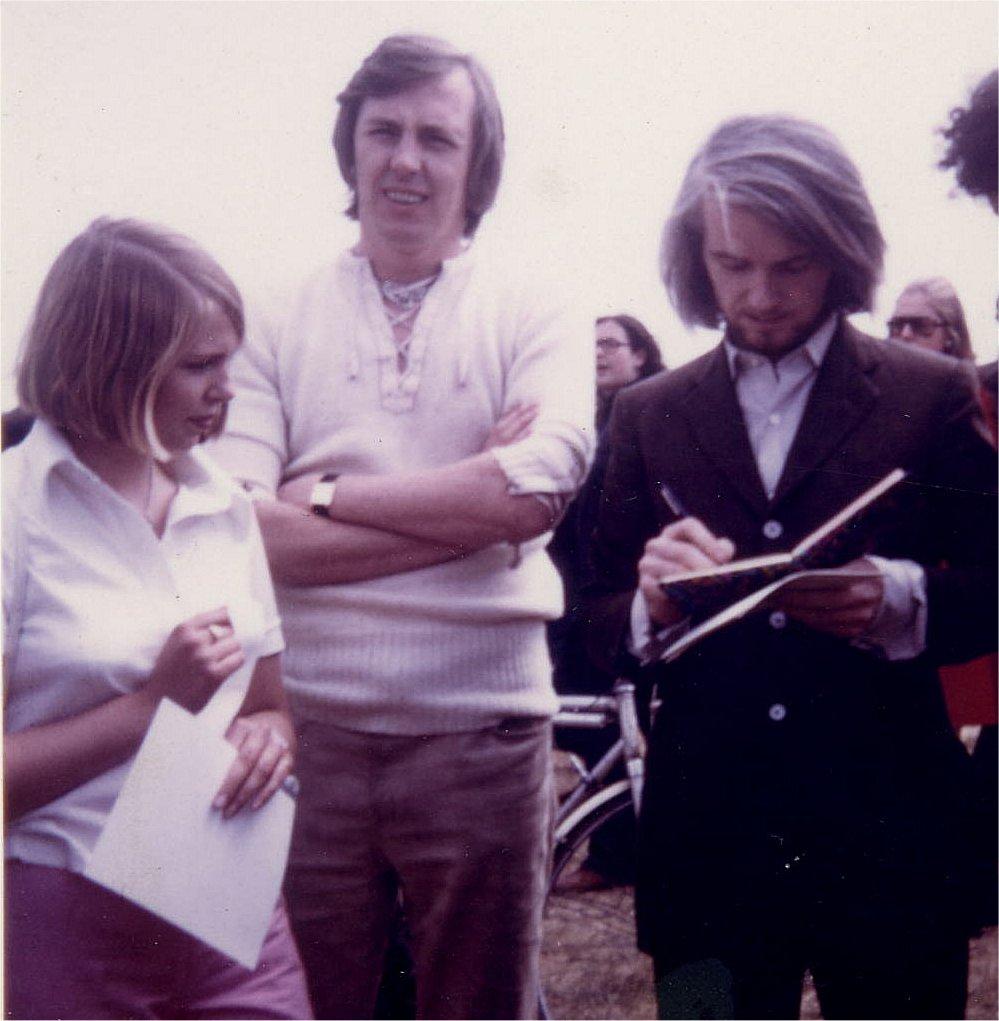 DJ Kathy Jeanette & Ronan O'Riley 1970