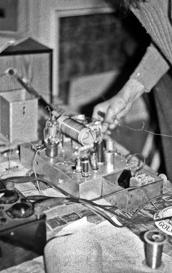 Radio Jackie Transmitter 1973