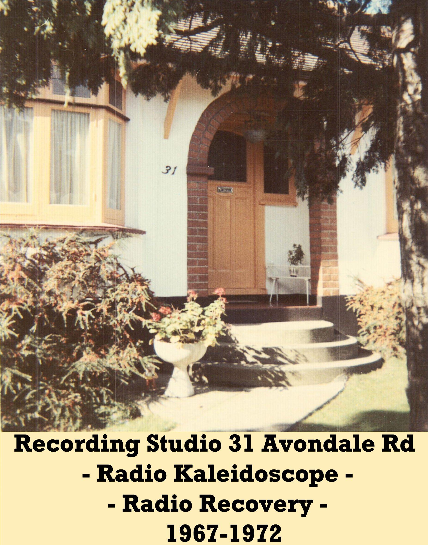 Recording Studio 1967-1972